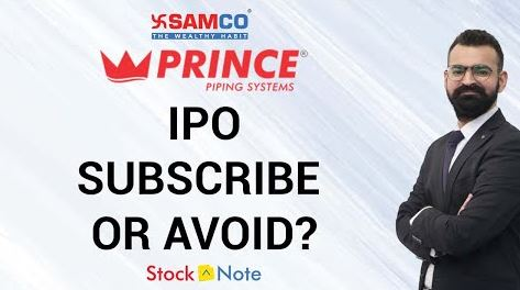 Prince Pipes IPO | IPO Review | Should you Subscribe | Samco Research | Samco