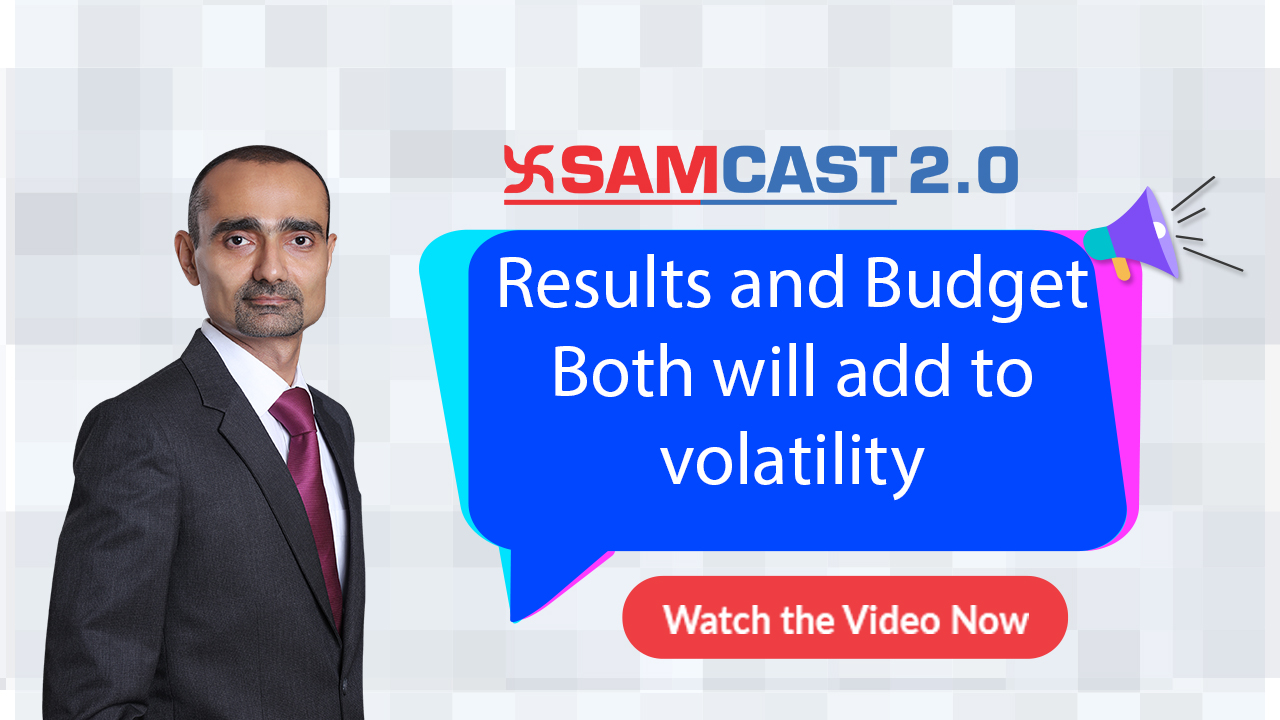 Results and Budget - Both will add to volatility | Nifty | Stock Market | Weekly Update | Samco